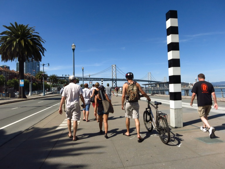 One thing I wish I'd done in SF: CYCLE.