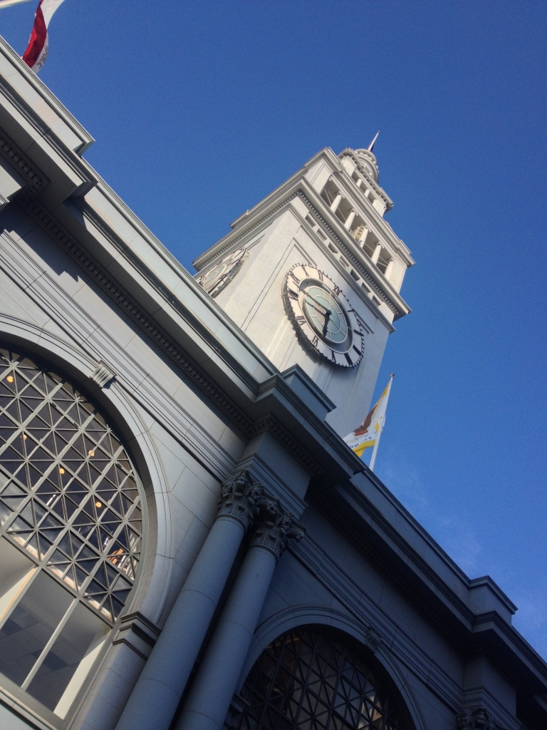Finally reached our destination: The Ferry Building
