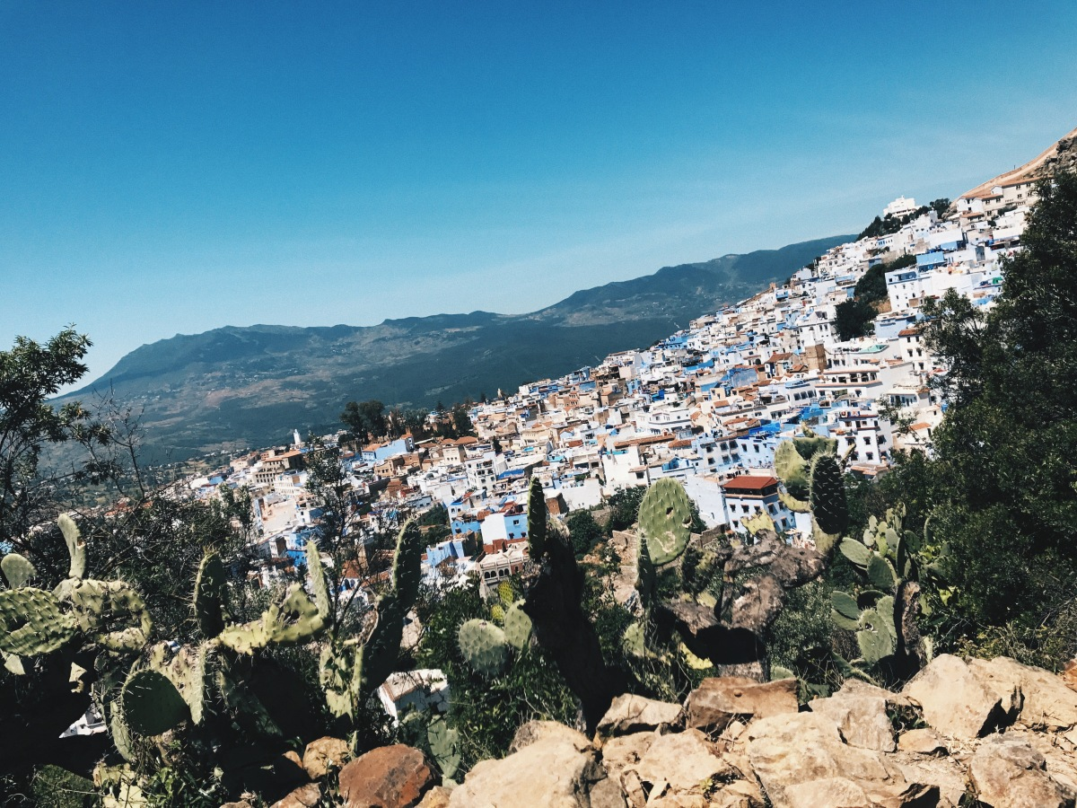 Chefchaouen: Fifty shades of...DON'T. JUST DON'T.